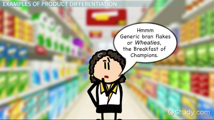 product differentiation in marketing examples strategies
