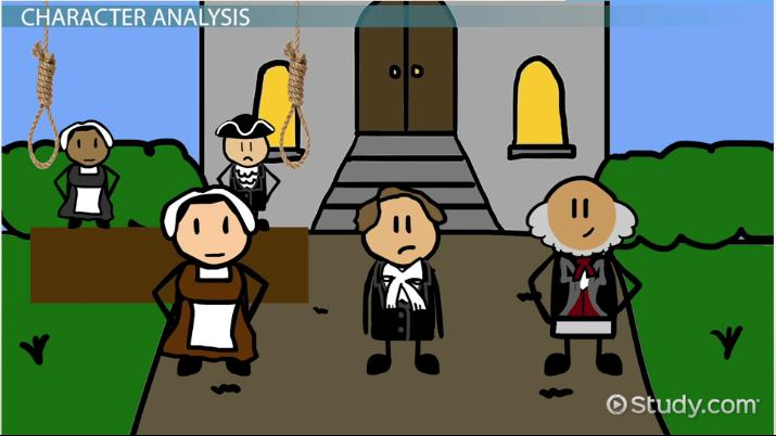 John Proctor Character Traits Analysis Video Lesson