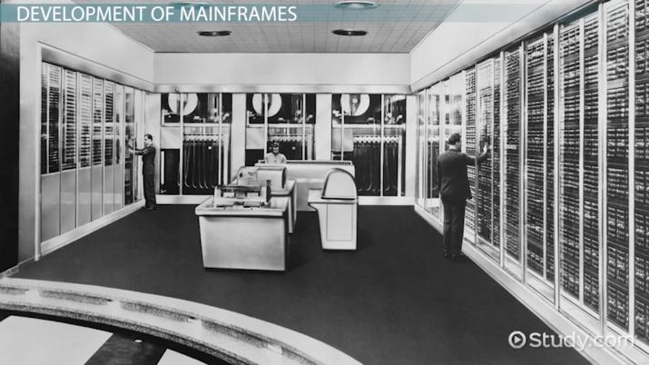 What is a Mainframe System? - Video & Lesson Transcript | Study com