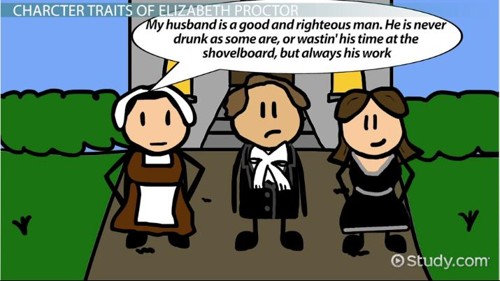 john proctor character traits analysis video lesson  elizabeth proctor character traits analysis