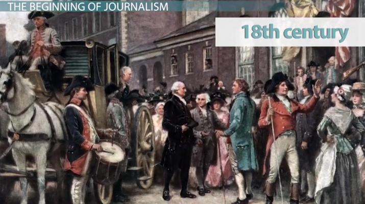 Introduction to Journalism: History & Society