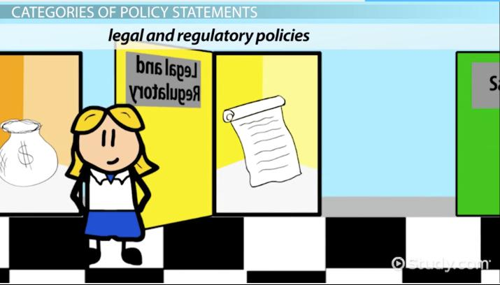 What Is a Policy Statement? - Definition & Examples - Video