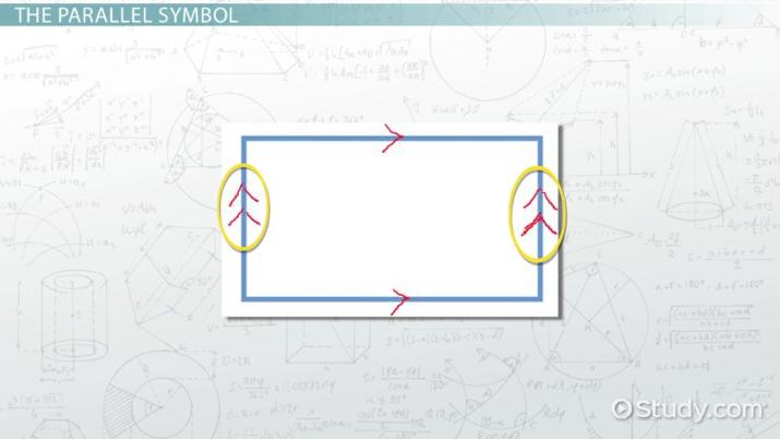 Parallel Sides Definition Concept Video Lesson Transcript