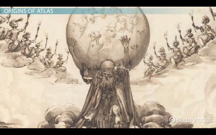 Atlas In Greek Mythology Story Facts
