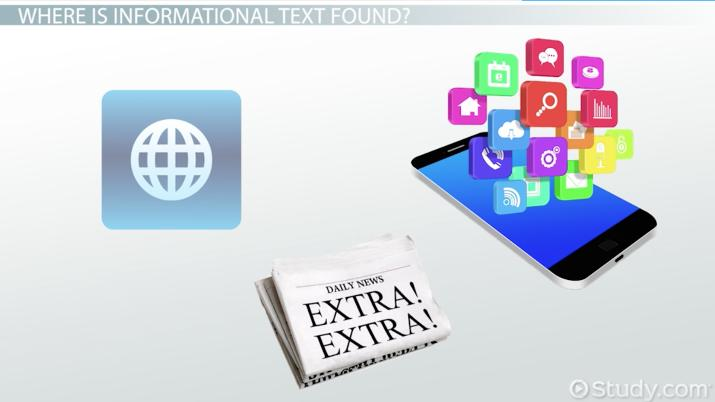 What Is Informational Text Definition Characteristics