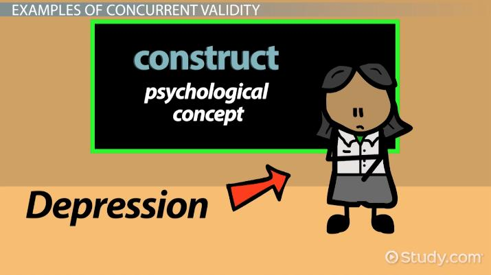 Concurrent Validity Definition Examples Video Lesson