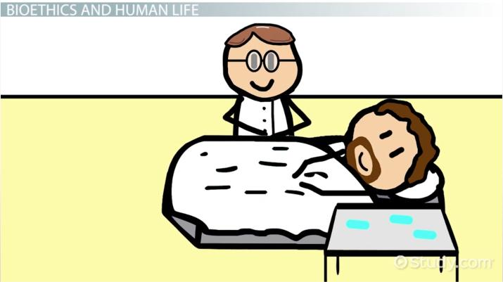 Bioethics: Areas, Issues & Human Life - Video & Lesson