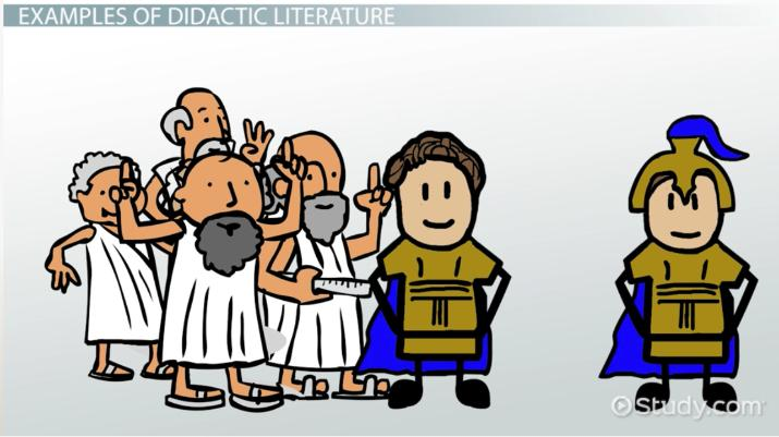 Didactic Literature Definition Examples Video Lesson