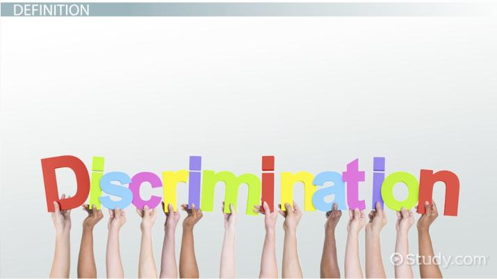 what is discrimination  - definition  u0026 examples
