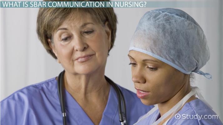 SBAR in Nursing Communication: Format & Examples - Video & Lesson