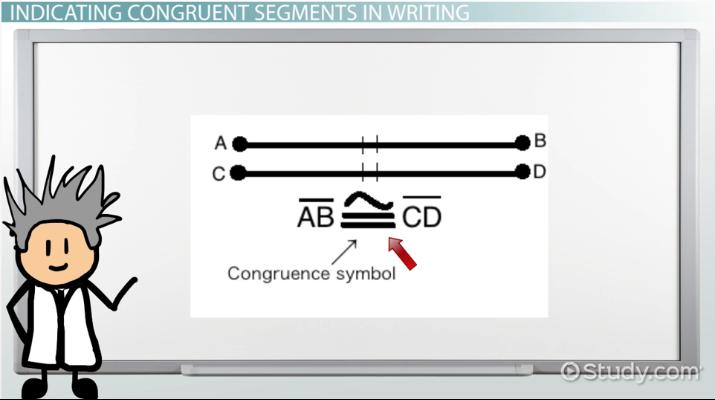 Congruent Segments Definition Examples Video Lesson