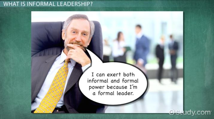 Informal Leadership: Definition & Explanation