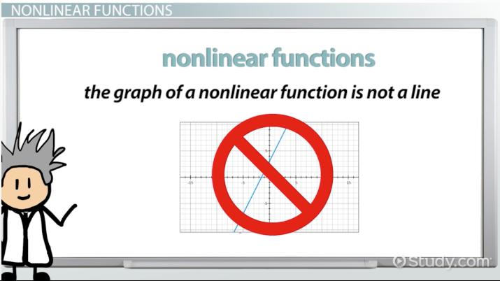 Nonlinear Function: Definition & Examples - Video & Lesson