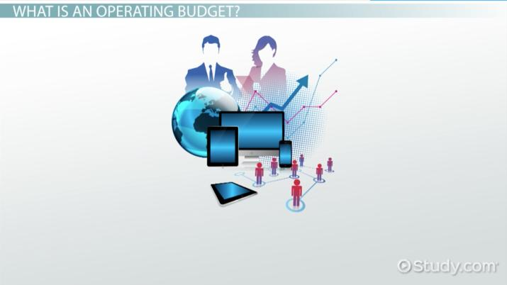 What Is Operating Budget Definition Examples Video Lesson