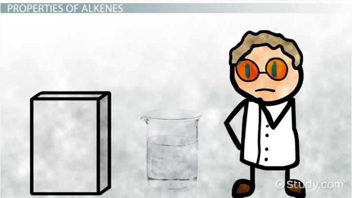 Alkenes: Definition, Properties & Examples - Video & Lesson