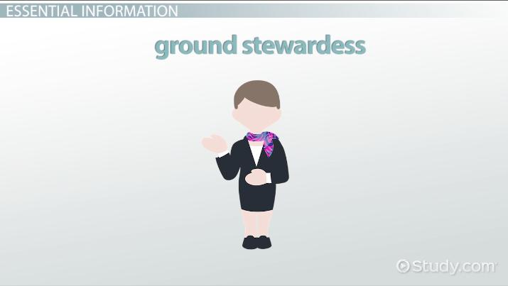 Ground Stewardess: Job Description, Duties and Requirements
