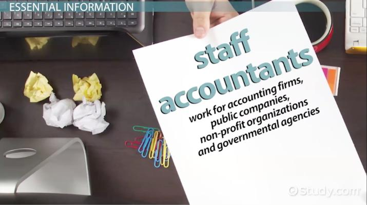 Staff Accountant: Job Description, Duties and Requirements