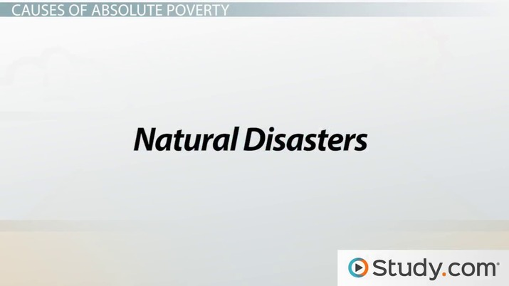 poverty reasons and solutions