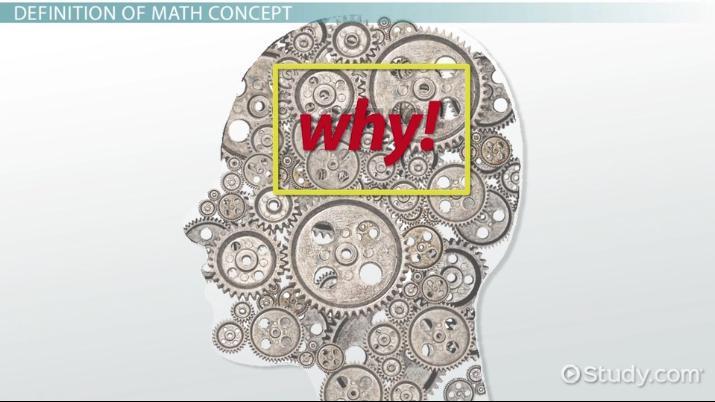 What is a Math Concept? - Video & Lesson Transcript | Study com