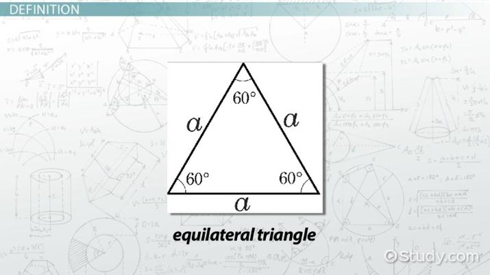 What Is An Equilateral Triangle Definition Properties Formula. What Is An Equilateral Triangle Definition Properties Formula Video Lesson Transcript Study. Worksheet. Isosceles And Equilateral Triangles Worksheet At Mspartners.co