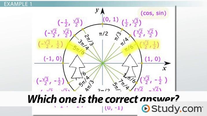 Solve Trigonometric Equations with Identities & Inverses