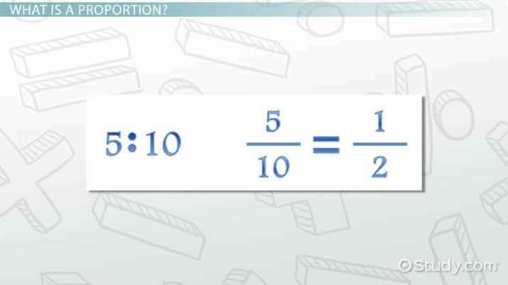 What is a Proportion in Math? - Definition & Practice Problems