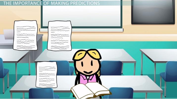 how to make predictions based on information from a reading