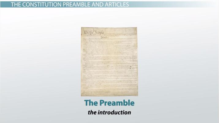 The Constitution Of The United States Summary Analysis