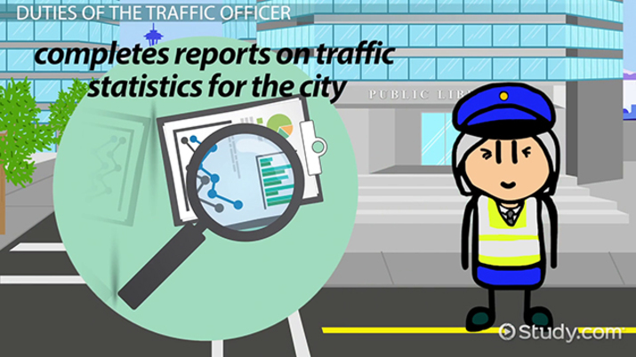 What are the Duties of the Traffic Officer? - Video & Lesson