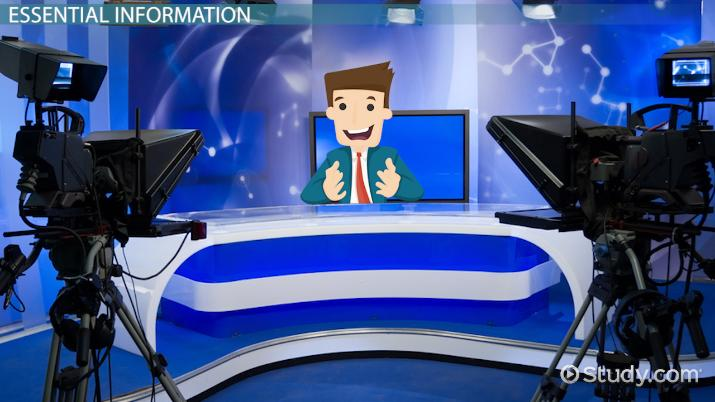 What is a News Anchor? - Job Description & Salary