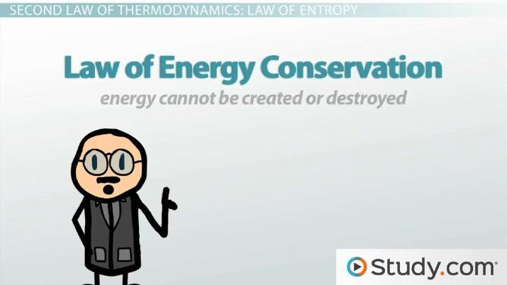Second Law Of Thermodynamics Entropy And Systems Video Lesson