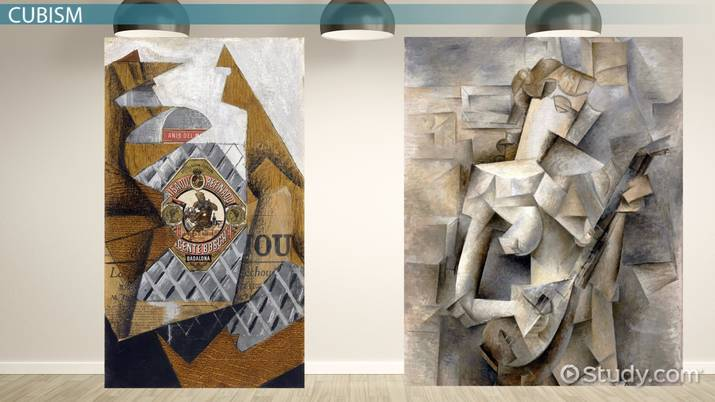 Analytical Cubism vs. Synthetic Cubism