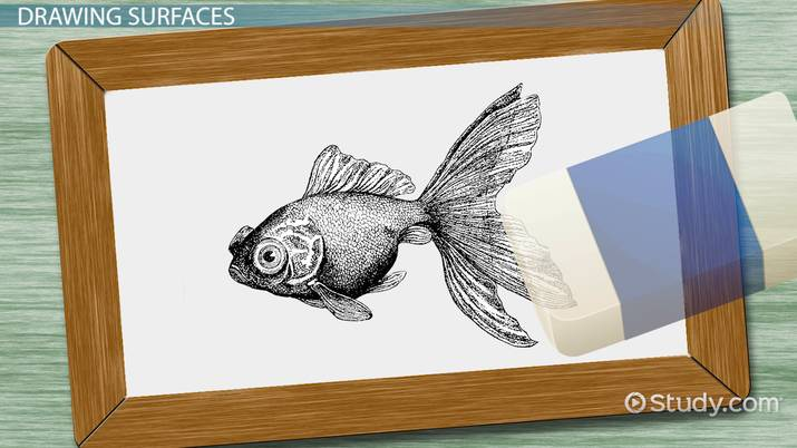 History of Drawing Materials & Techniques - Video & Lesson