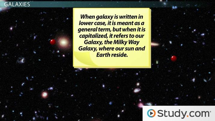 Solar System, Galaxy, & Universe: Definitions & Difference ...