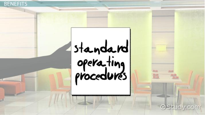 Standard Operating Procedures: Definition U0026 Explanation   Video U0026 Lesson  Transcript | Study.com