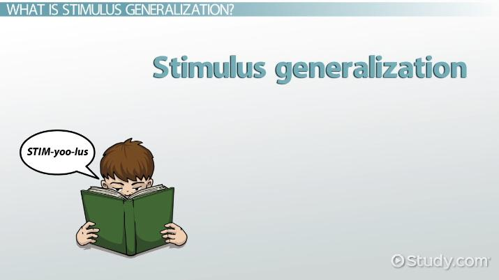 Stimulus Generalization Definition Exles Video Lesson. Stimulus Generalization Definition Exles Video Lesson Transcript Study. Worksheet. Generalization Worksheet At Clickcart.co