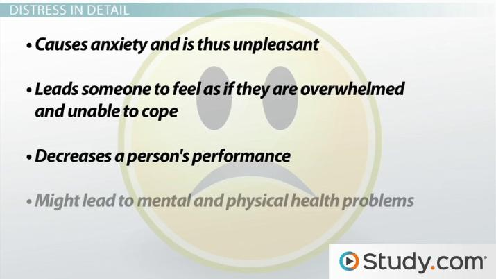 Stress Definition And Impact On Overall Health Video Lesson