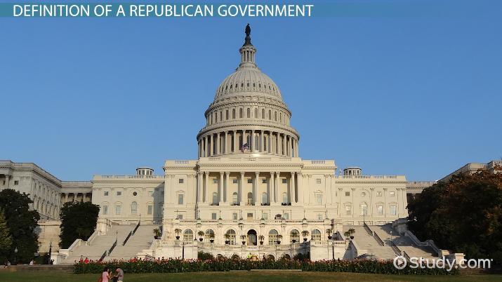 republican government  definition  u0026 advantages
