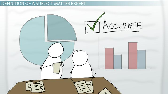 Subject Matter Expert: Definition & Role - Video & Lesson