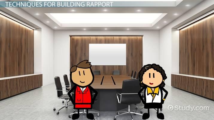 rapport building techniques