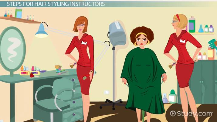 Become A Professional Hair Styling Instructor Requirements