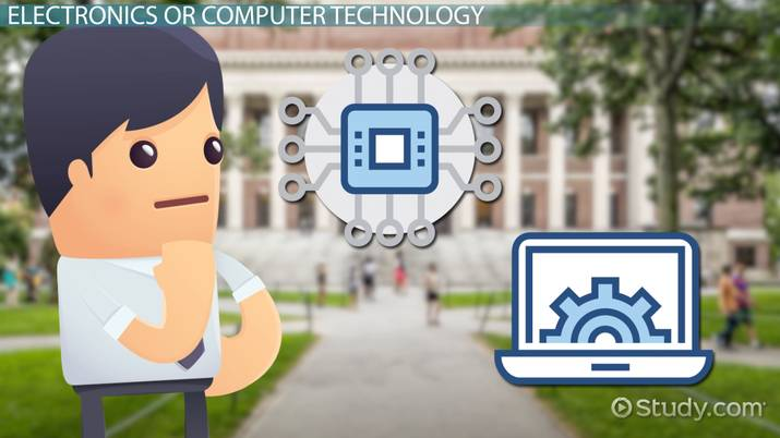 electronics vs computer technology degrees whats the