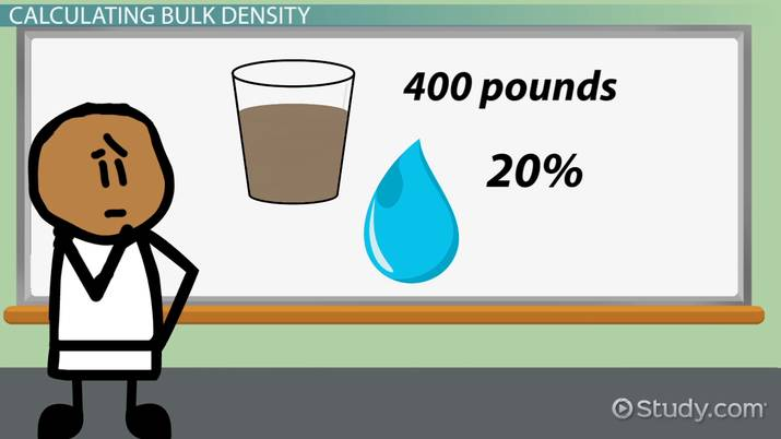 Bulk Density: Definition & Calculation - Video & Lesson