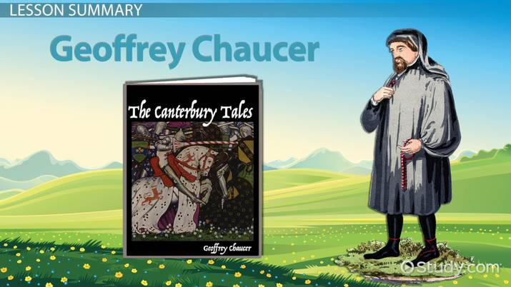 The Canterbury Tales Medieval Society Culture Video Lesson
