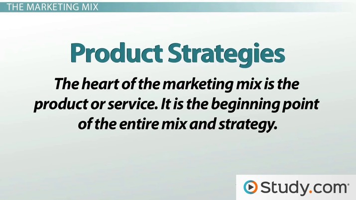 global marketing mix examples