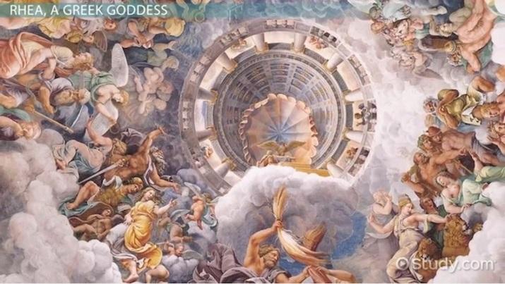 The Greek Goddess Rhea Mythology Overview Video Lesson