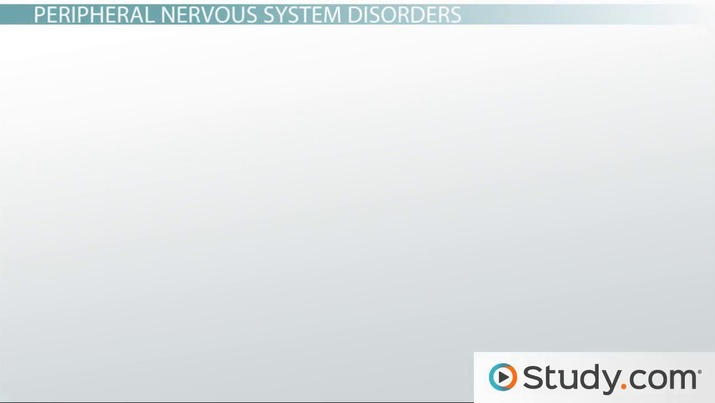 Categorization of Neurological Disorders: Central and