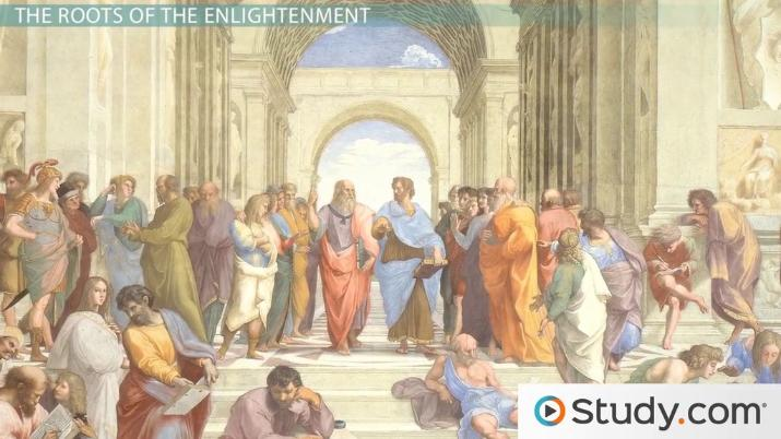 An overview of the major changes during the 18th century enlightenment in europe