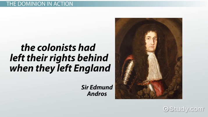 The Dominion Of New England Definition Overview Video Lesson Magnificent Dominion Thinking Quotes