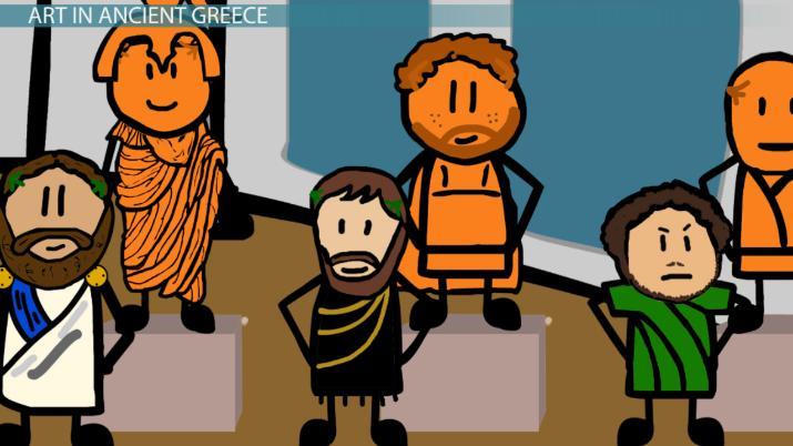 The Evolution Of Art In Ancient Greece Video Lesson Transcript